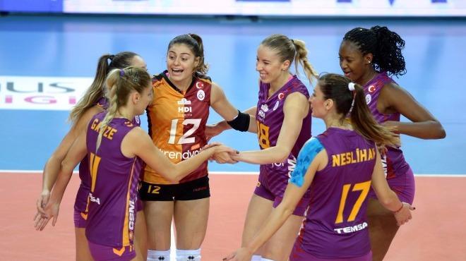 Galatasaray set vermeden kazandı
