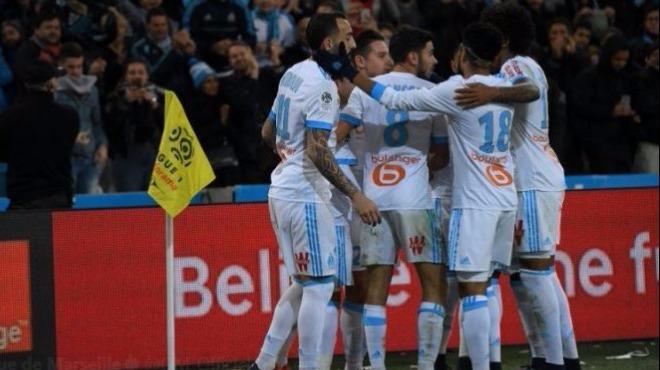 Marsilya, sahasında tek golle kazandı!