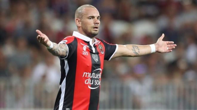 Wesley Sneijder'in takımı Nice, Lyon maçında dağıldı: 5-0!