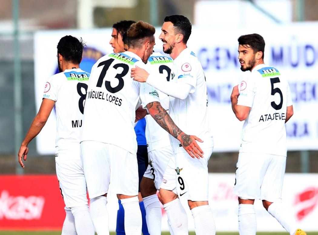 Özet - Akhisarspor, Ziraat Türkiye Kupası'nda tur kapısını araladı!