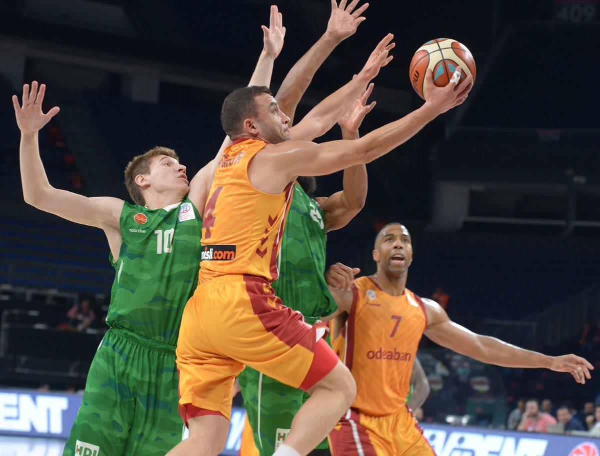 Galatasaray Odeabank, Yeşilgiresun'u farklı geçti!