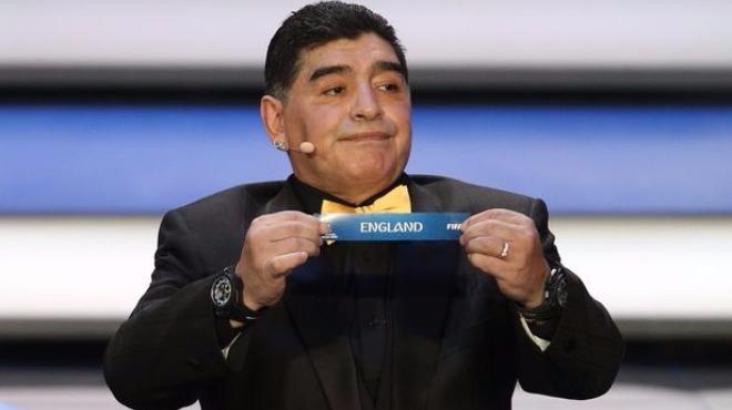 Diego Maradona, Arjantin'in Dünya Kupası şansını değerlendirdi