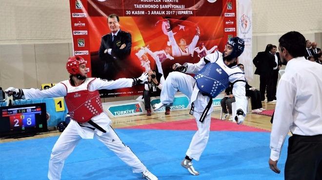 Kulüpler Türkiye Tekvando Şampiyonası Isparta'da başladı
