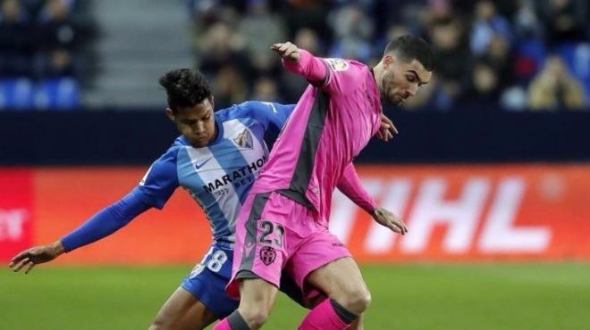 Enes Ünal'ın takımı Levante, Malaga deplasmanında kayıp