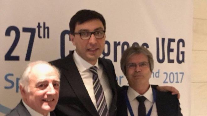 UEG'ye Azerbaycanlı başkan