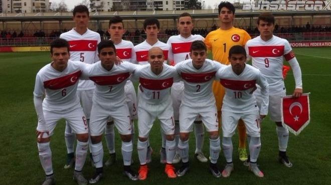 U15 Milli Futbol Takımı, ilk maçında Belarus'u mağlup etti