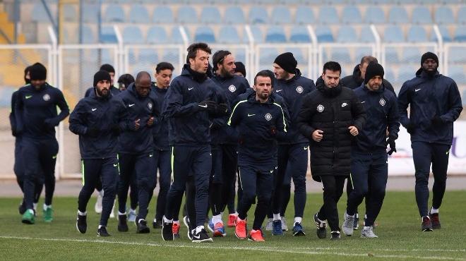 Osmanlıspor, Beşiktaş maçı hazırlıklarını tamamladı