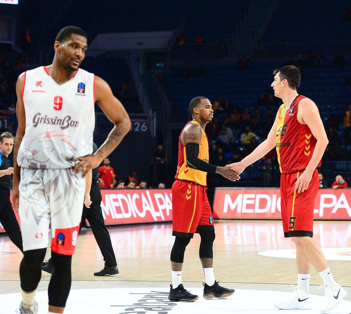 Galatasaray Odeabank, İtalyan Reggio Emilia'yı mağlup etti