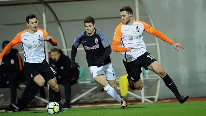 Ukrayna'da 3 kırmızı kartlı, olaylı maç! Shakhtar Donetsk 1-0 öne geçmesine rağmen...