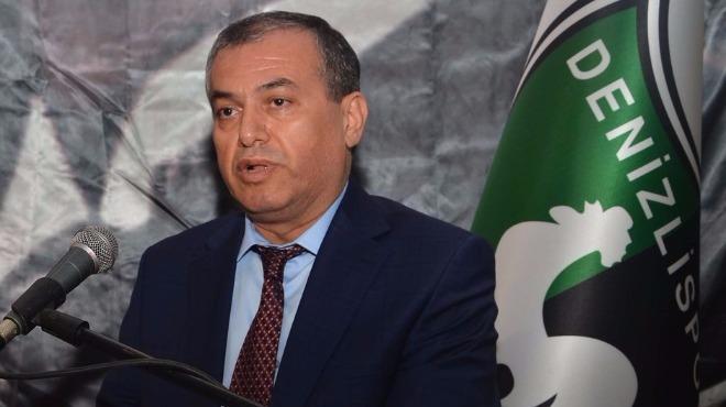 Denizlispor Başkanı Mustafa Üstek'ten Almubaraki açıklaması