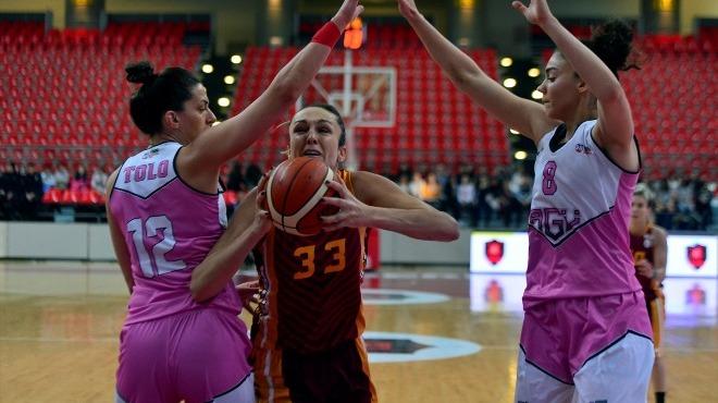 Abdullah Gül Üniversitesi Galatasaray'ı devirdi
