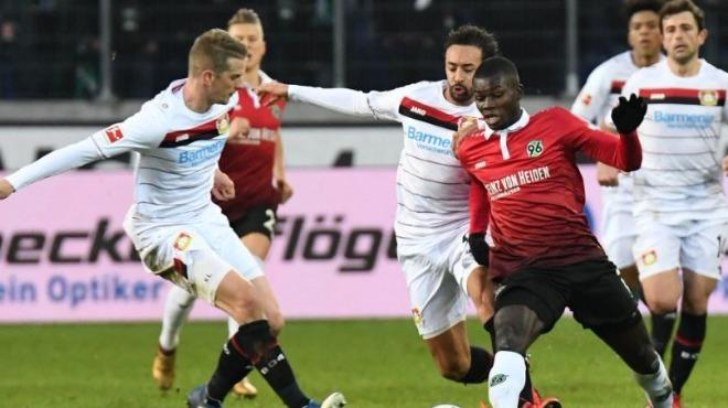Hannover ile Bayer Leverkusen arasında 4-4'lük maç!