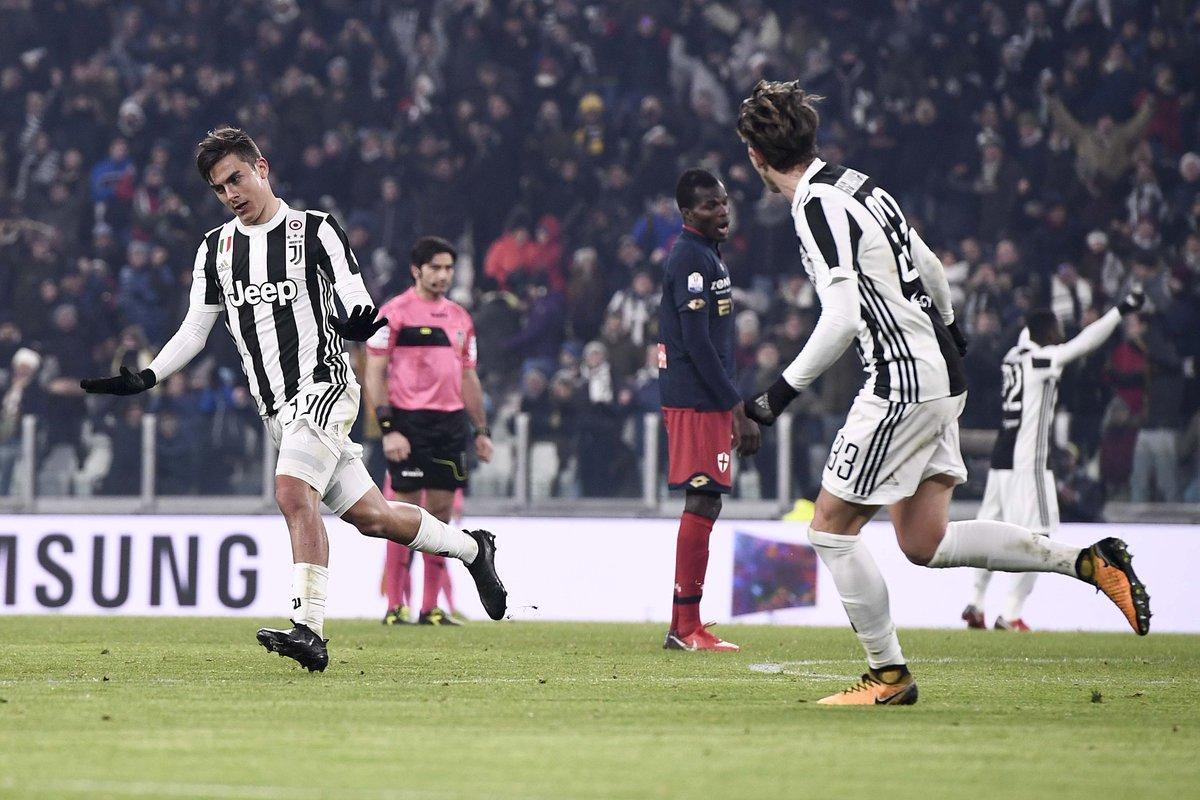 Juventus, İtalya Kupası'nda çeyrek finale yükseldi