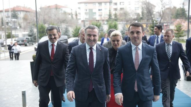 Osman Aşkın Bak, Kosovalı mevkidaşıyla görüştü