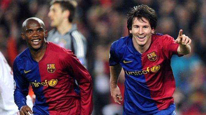 Video - Romario, Eto'o ve Messi'den El Clasico golleri