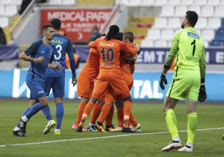 Kasımpaşa - M.Başakşehir maçında 2 bin seyirci