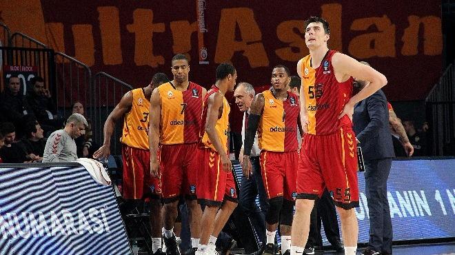 Galatasaray Odeabank'ın konuğu Darüşşafaka