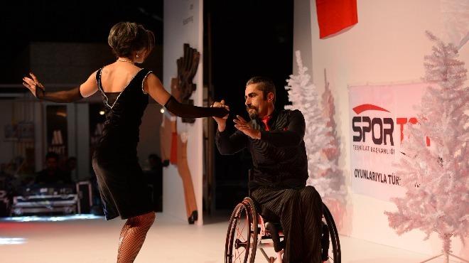 Tekerlekli Sandalye Dans Şampiyonası başladı