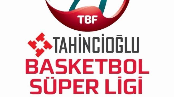 Tahincioğlu Basketbol Süper Ligi'nde fikstür yarın çekilecek