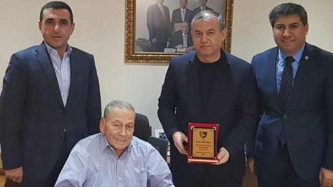 Denizlispor'dan teşekkür ziyareti