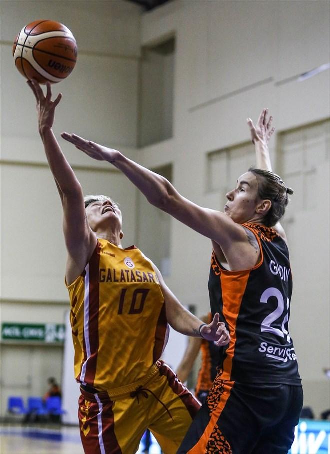 Galatasaray: 61 - Bourges Basket: 79