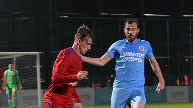 Sancaktepe hazırlık maçında Altınordu'yu devirdi