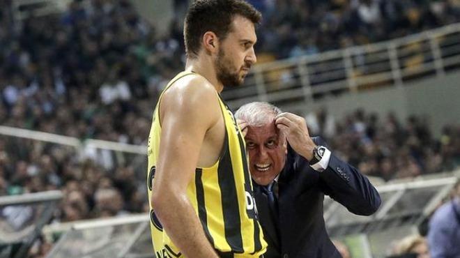 Fenerbahçe forması giyen Guduric'ten Obradovic'e övgü