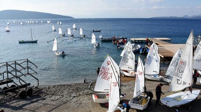 Yelken: Bodrum Kış Trofesi Yarışları sona erdi.