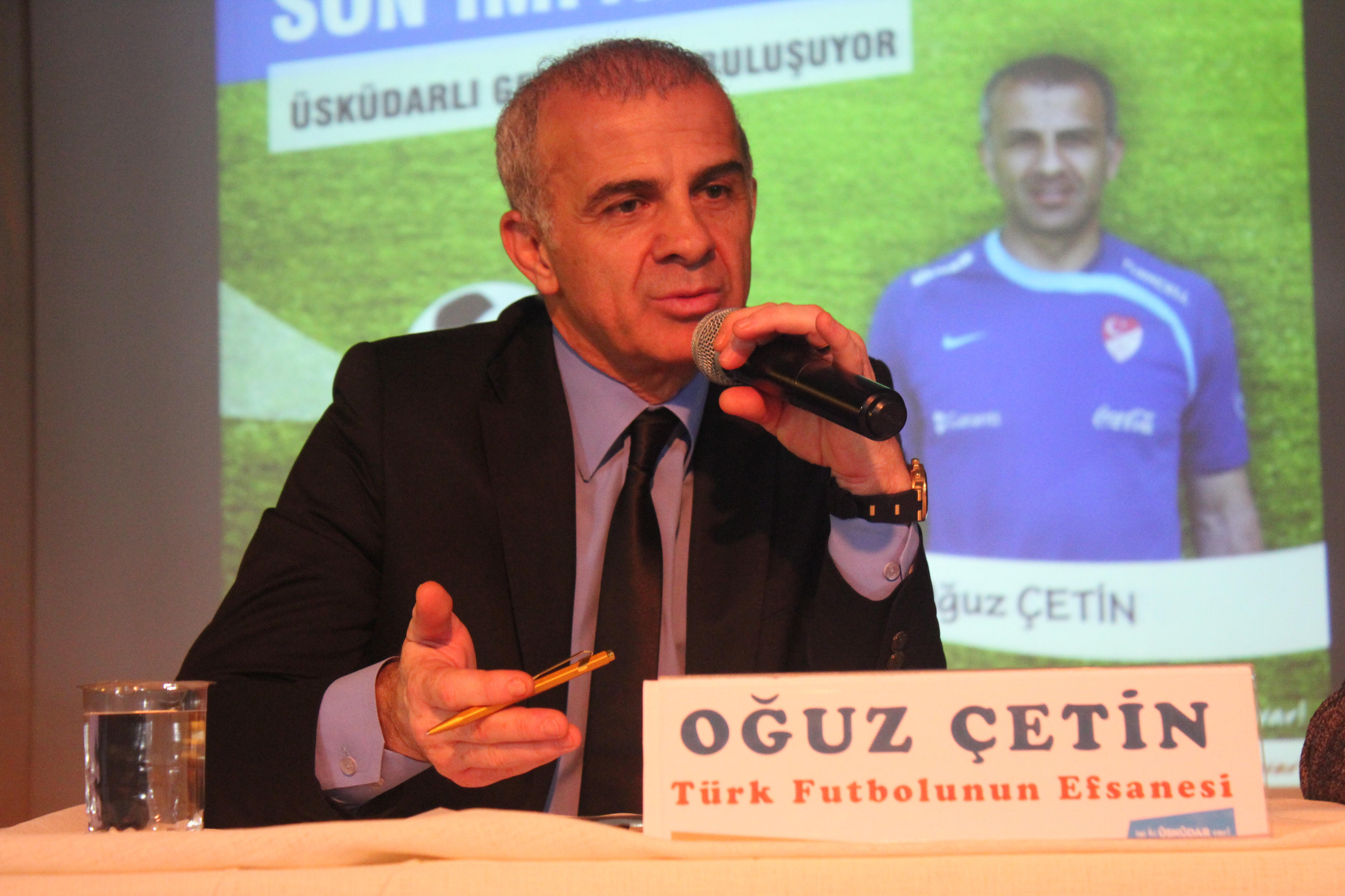 Oğuz Çetin: 'Bugün Türk futbolunun ihtiyaç duyduğu şey...'