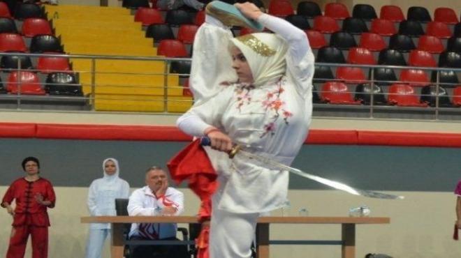 Wushu Kung Fu Şampiyonası Samsun'da başladı!