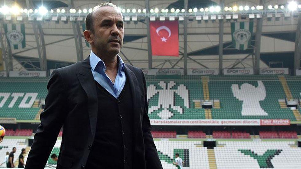 Özdilek'in Beşiktaş'a karşı mücadele etmesi