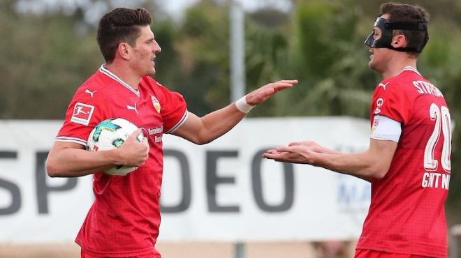 Video - Mario Gomez, Stuttgart'taki ilk golünü attı!