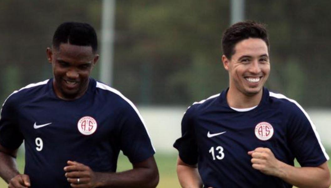 Antalyaspor'dan resmi açıklama! Nasri, Eto'o, transfer yasağı...