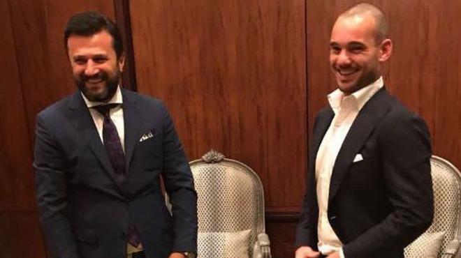Bülent Uygun, yeni transferi Sneijder hakkında konuştu