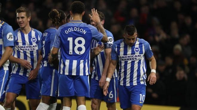 Brighton & Hove Albion FA Cup'ta son 32 takım arasına kaldı! Crystal Palace...