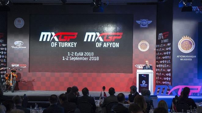 Dünya Motokros Şampiyonası'nın tanıtım toplantısı gerçekleştirildi