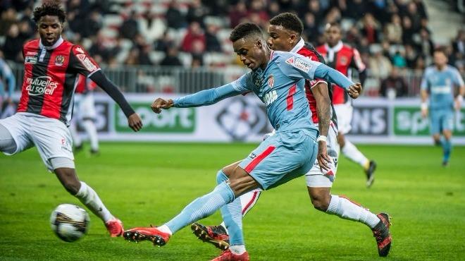 Monaco Fransa Kupası'nda adını yarı finale yazdırdı! Moutinho...