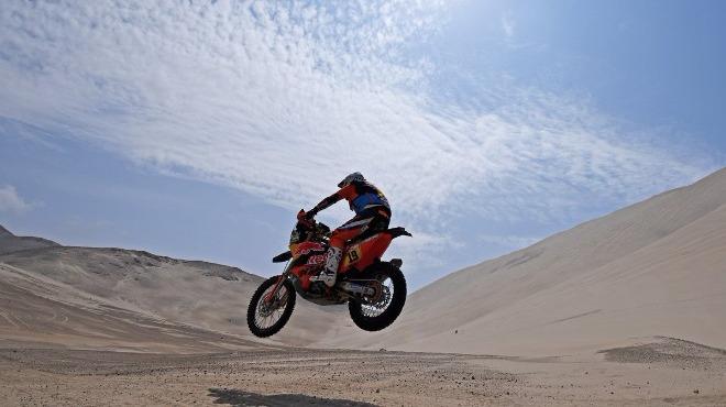 Dakar Rallisi heyecanı sürüyor