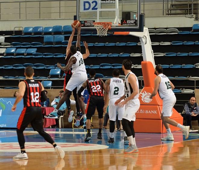 Sakarya Büyükşehir Belediyespor: 100 - Eskişehir Basket: 89
