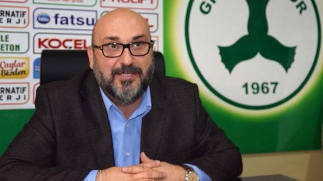Giresunspor'dan Fenerbahçe yorumu!