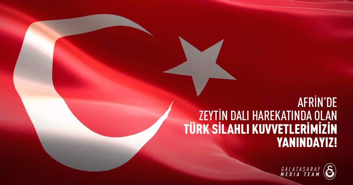 Programı Afrin'deki Zeytin Dalı Harekatı ile açtı!