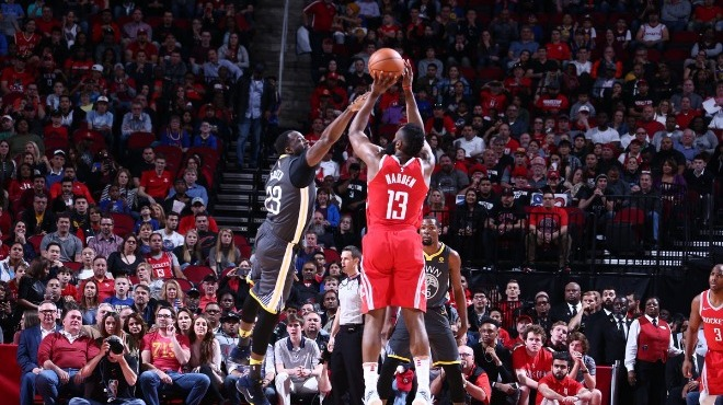 "Rockets, Warriors'a ""dur"" dedi"