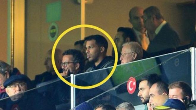 Fenerbahçe'nin yıldızını izlemeye geldiler