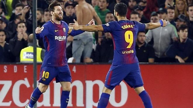 Barcelona, Real Betis'i farklı geçti!