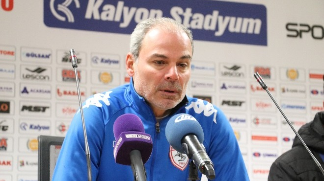 """Video - Engin İpekoğlu: """"Net pozisyonlarımız vardı ama değerlendiremedik"""""""