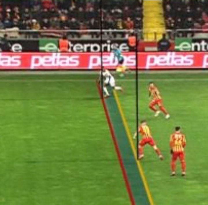 Galatasaray'ın golü için ofsayt değerlendirmesi!