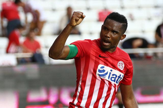 Antalyaspor'dan Samuel Eto'o açıklaması!