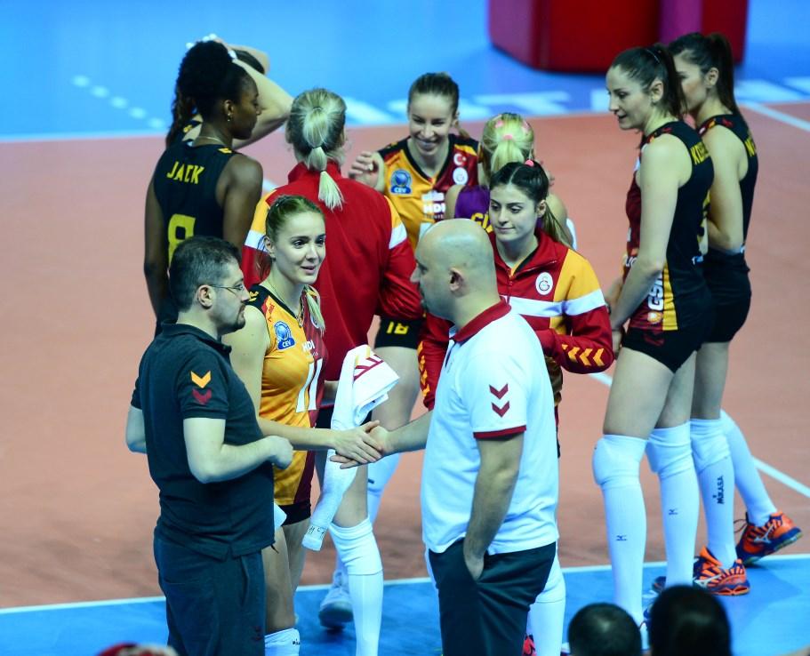 Galatasaray Grot'u geçti, ikinci galibiyetini elde etti