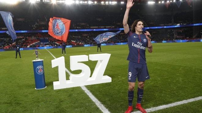 Edinson Cavani, PSG tarihinin en golcüsü oldu!