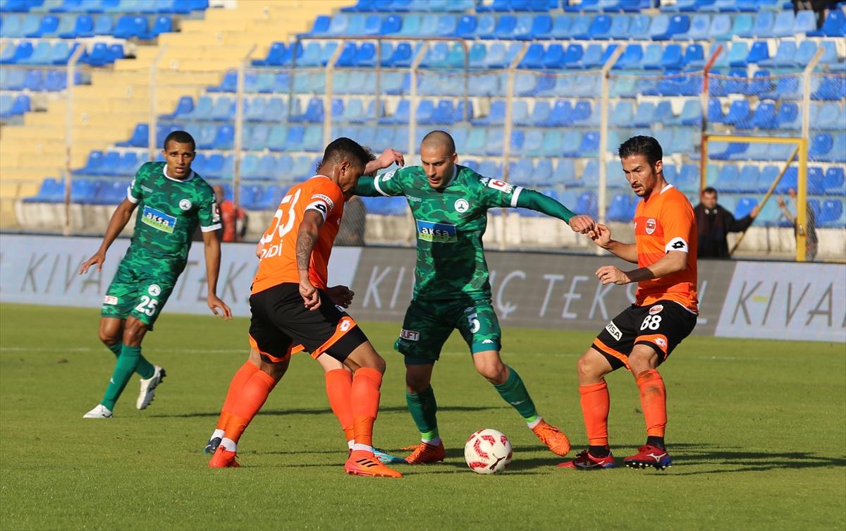Adanaspor ile Giresunspor puanları paylaştı